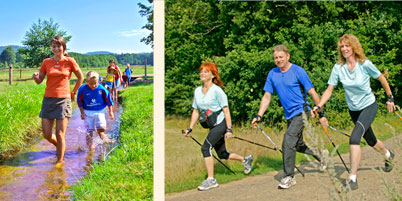 Bachlehrpfad & Nordic Walking